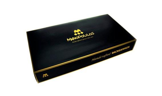 Backgammon Grande Madera-EF. NOGAL OSCURO