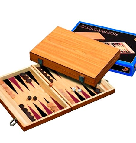 Backgammon Mediano Madera Philos