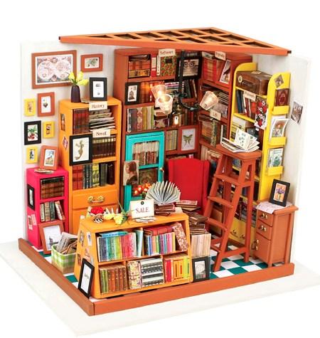 Miniature House DIY – Sam´s Study