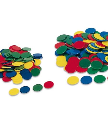 Fichas color 15mm