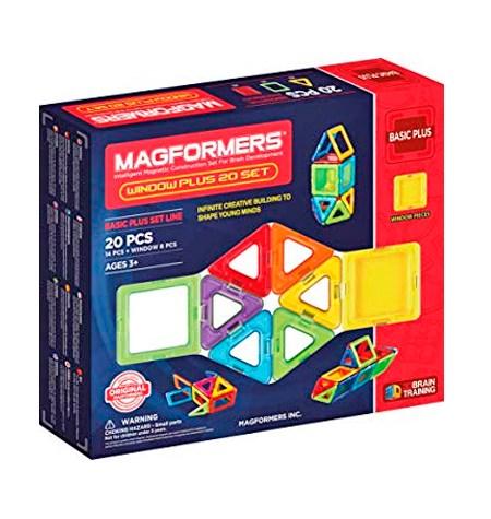 Magformers 20 piezas BASIC PLUS