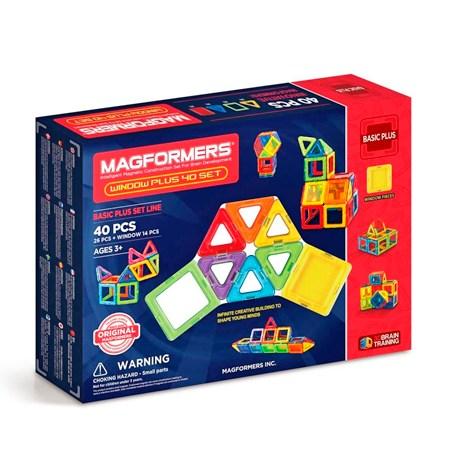Magformers 40 piezas BASIC PLUS
