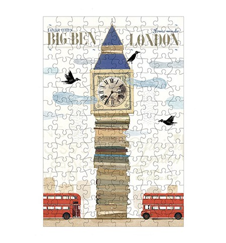 Puzzle 150 MINI – Tubo – Londres