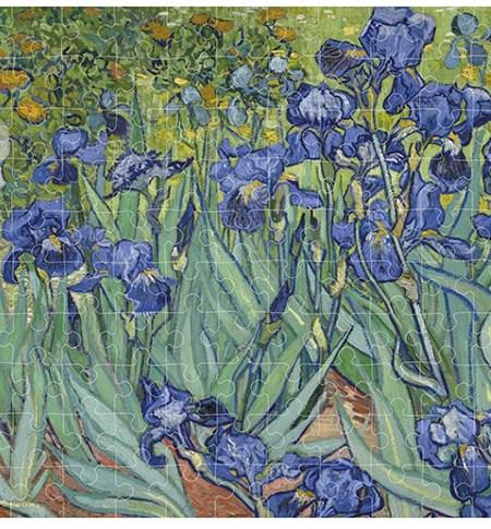 Puzzle 150 MINI – Tubo – Lirios, Van Gogh