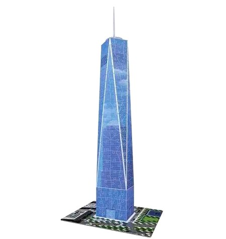 Puzzle 3D – 216  One World Trade Center, Nueva York