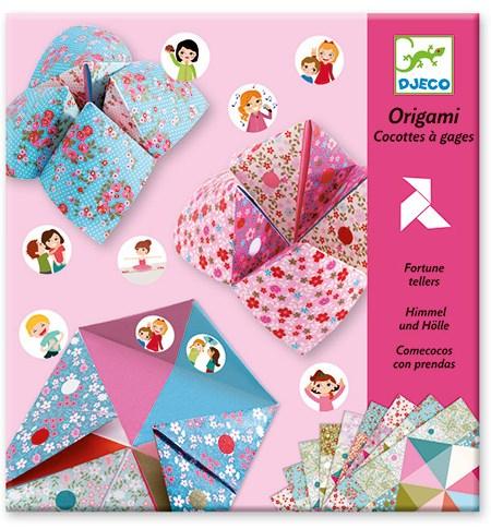 Origami Come-cocos Rosa