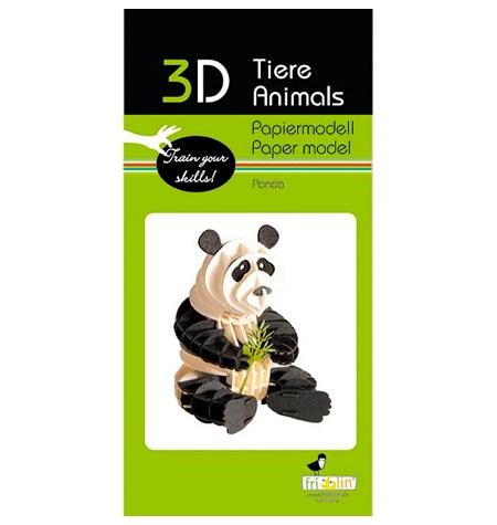 Paper Model – Oso Panda