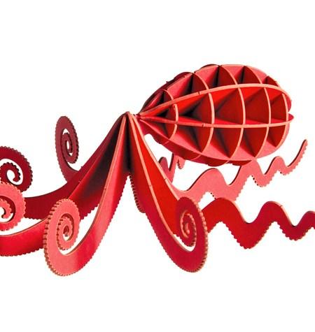 Paper Model – Pulpo