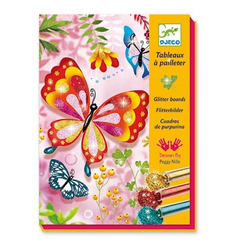 Pintar con Purpurina – Mariposas