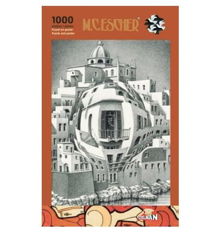 Puzzle 1000 B/N ESCHER – Balcón – Puzzelman