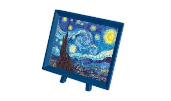Puzzle 150 MINI – Piezas de Plástico – Noche Estrellada, Van Gogh – Pintoo
