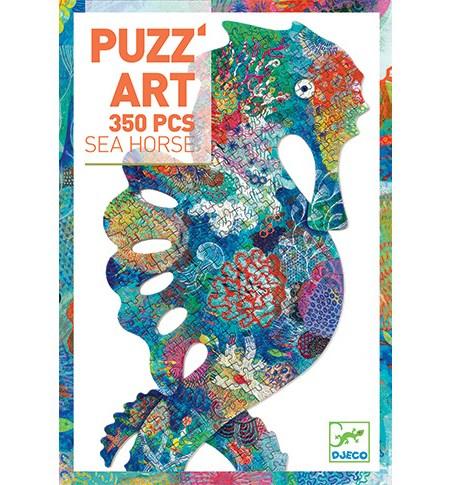 Puzzle 350 Silueta Caballito de Mar – Djeco