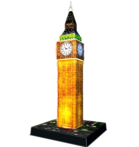 Puzzle 3D LUZ – 216 Big Ben, Londres – Ravensburger