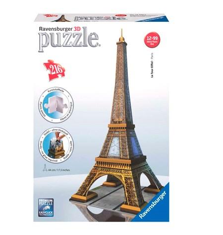 Puzzle 3D – 216  Torre Eiffel, Paris – Ravensburger
