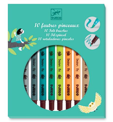 Rotuladores Pincel – Caja Verde