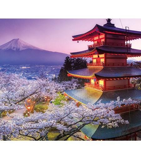 Puzzle 2000 Monte Fuji, Japón – Educa