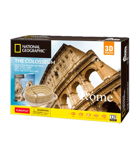 Arquitectura National Geographic – Coliseo