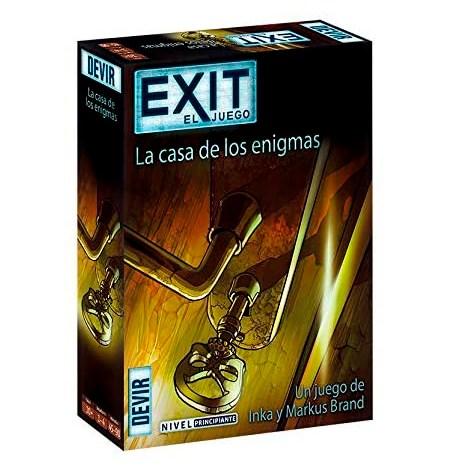 Exit – La casa de los enigmas – Nivel Principiante