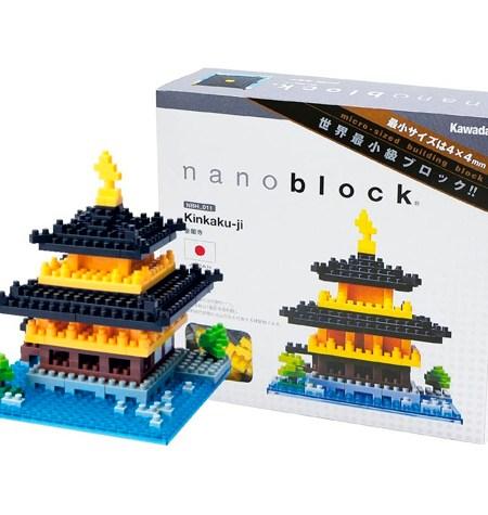 Nanoblock – Templo Kinkaku-ji
