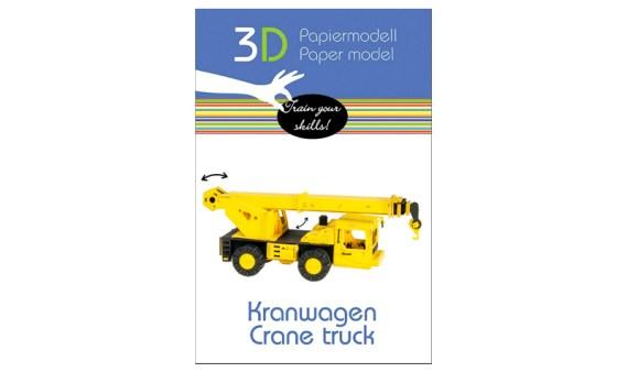 Paper Model – Vehículo Grúa
