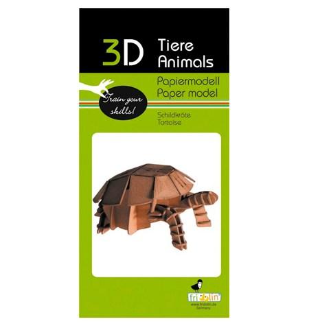 Paper Model – Tortuga
