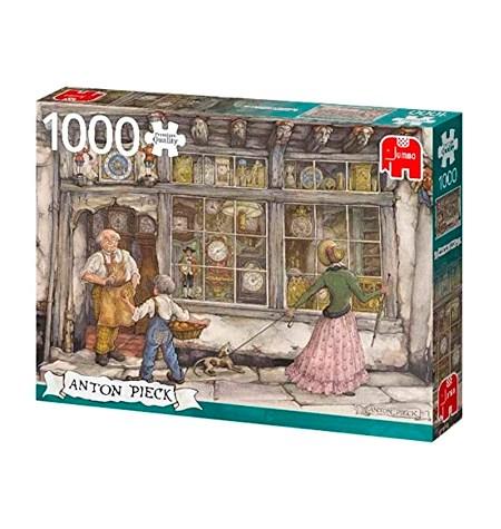 Puzzle 1000 ANTON PIECK – La tienda de relojes – Jumbo