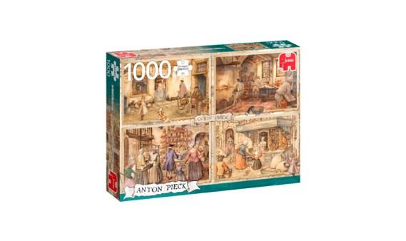 Puzzle 1000 ANTON PIECK – Panaderos del s.XIX- Jumbo