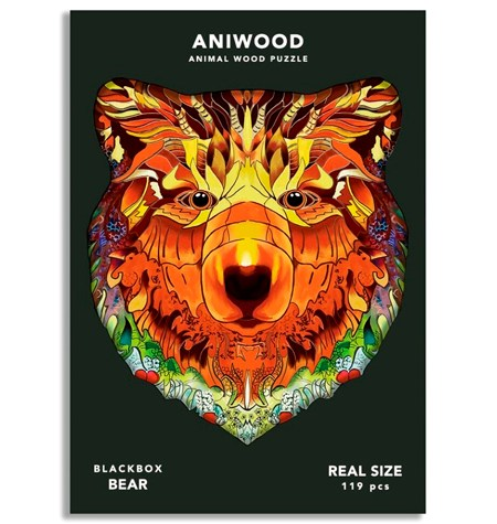 Puzzle 119 Madera MD – Oso – Aniwood