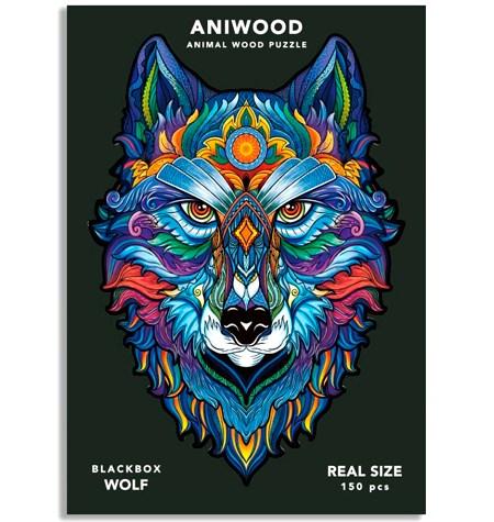 Puzzle 150 Madera MD – Lobo – Aniwood