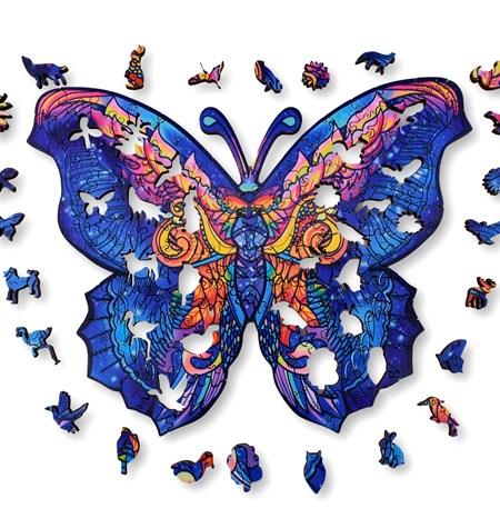Puzzle 150 Madera MD – Mariposa – Aniwood