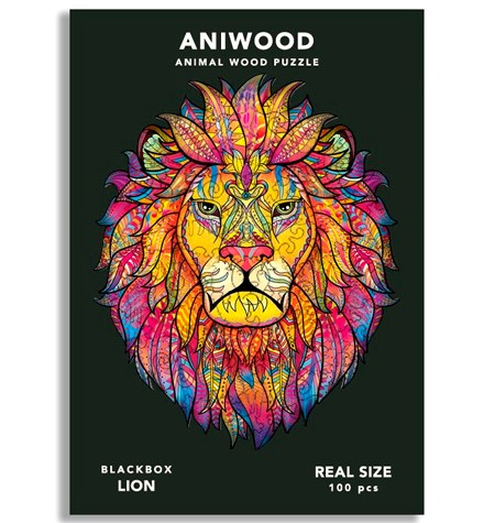 Puzzle 100 Madera PQ – León – Aniwood
