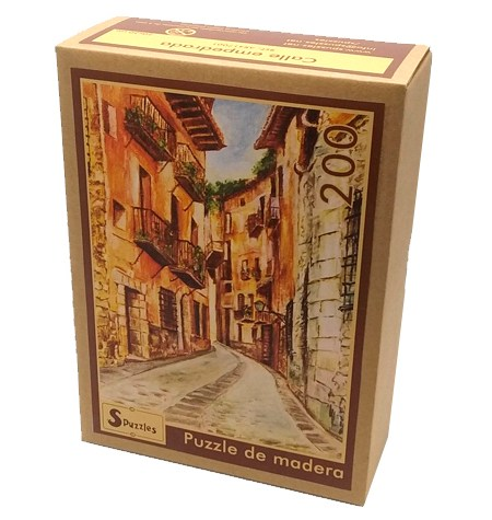Puzzle 200 Madera – Calle Empedrada – SPuzzles