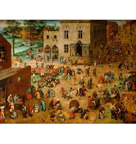 Puzzle 200 Madera – Juego de niños, Brueghel – SPuzzles