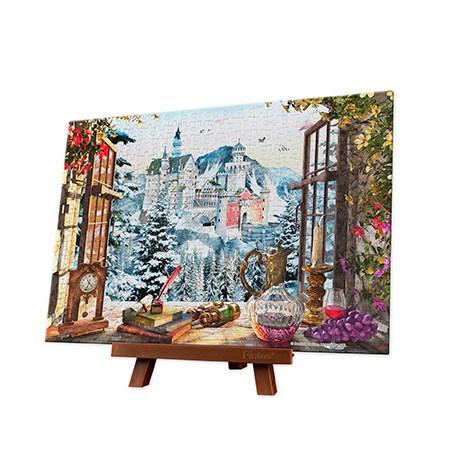 Puzzle 368 MINI – Piezas de Plástico – The Fairytale Castle – Pintoo