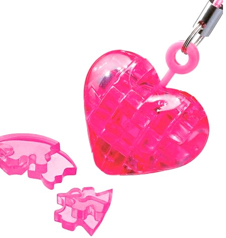 Rompecabezas Puzzle 3D Metacrilato MINI – Corazón