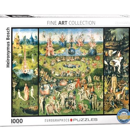 Puzzle 1000 Jardín de las Delicias – El Bosco – Eurographics