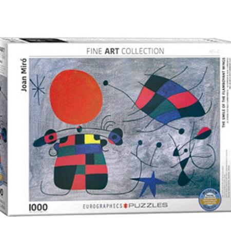 Puzzle 1000 La Sonrisa de Alas Flamantes- Joan Miro – Eurographics