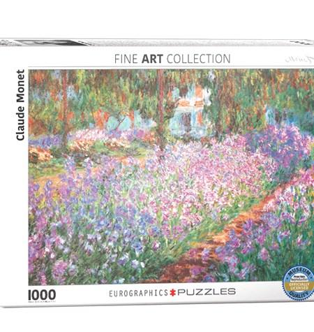 Puzzle 1000 El Jardín – Claude Monet – Eurographics