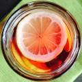 Cold Lemon Hibiscus Tea Plant-Based Sugar Free