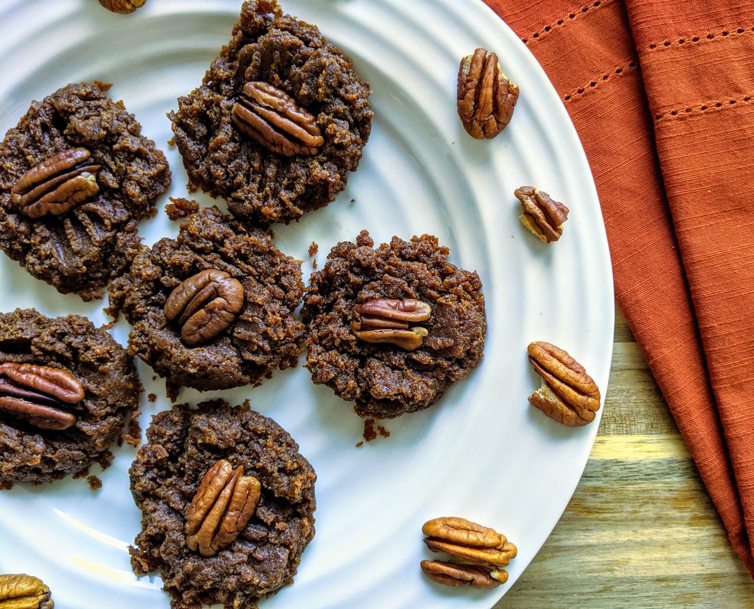 Flourless Pumpkin Spice Cookies