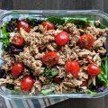 Mediterranean Tuna Salad Paleo Keto