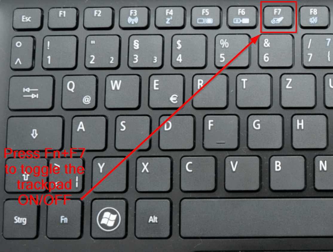 Turn Asus Laptop Key Pad