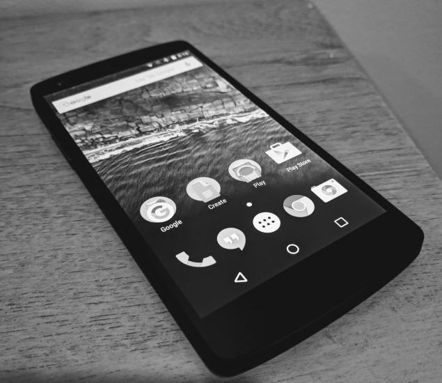 Classic Nexus 5 from Google