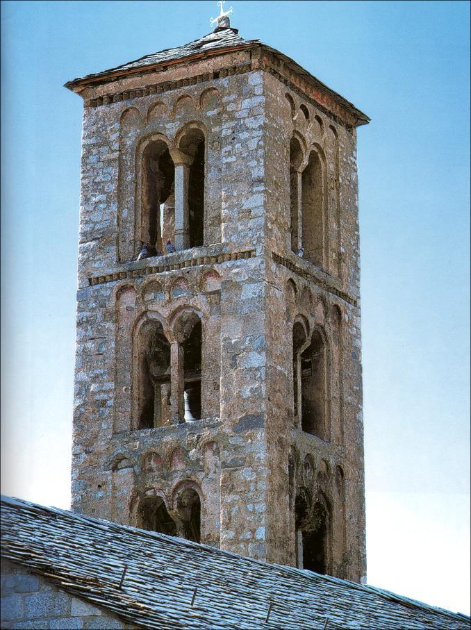 Resultado de imagen de Santa María de Tahüll torre