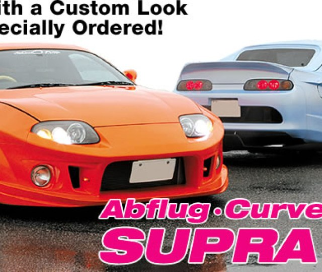 Dual Supras With A Custom Look That Can Be Specially Ordered Abflug Curve Design Supra