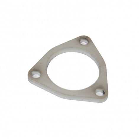 tegiwa 2 or 3 3 bolt stainless steel triangle exhaust flange