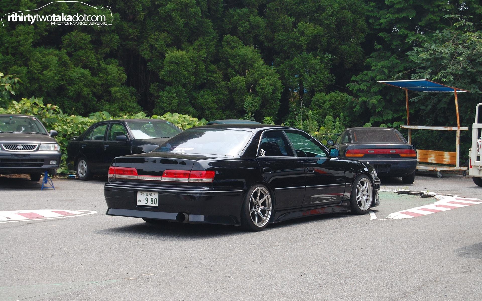 Toyota Mark II JZX100 Source r32taka.com