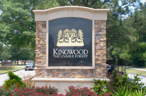 Kingwood Identification sign