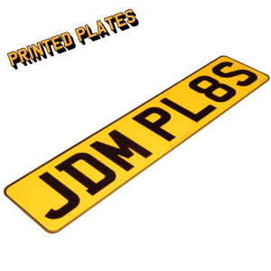 JDMPlates | Small & Legal Number Plates For Imported Vehicles