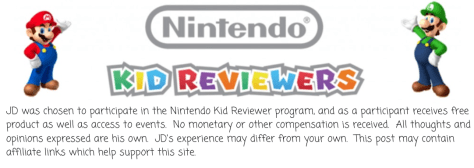 #PlayNintendo Kid Reviewer JDPs World